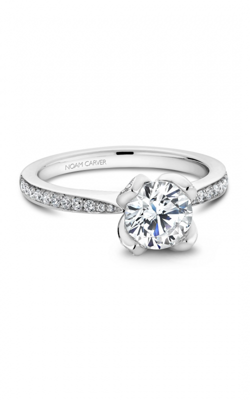 Noam Carver Floral Engagement Ring B019-01A product image