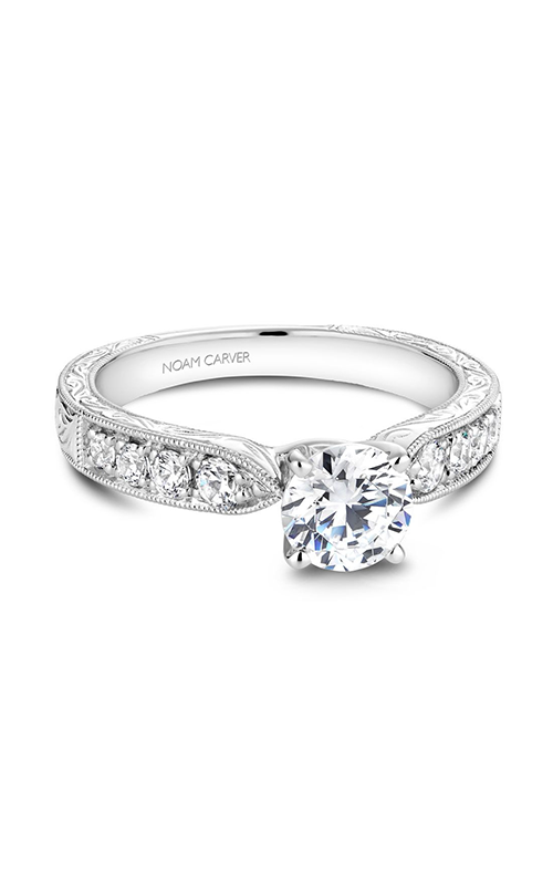 Noam Carver Vintage Engagement Ring B052-01A product image