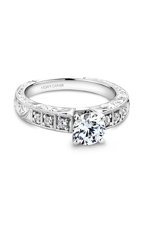 Noam Carver Vintage Engagement ring B057-01A product image