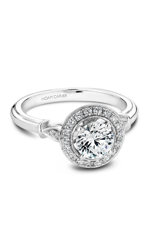 Noam Carver Vintage Engagement Ring B074-01A product image