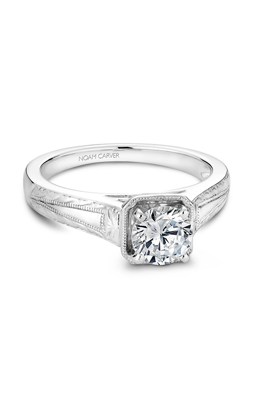 Noam Carver Vintage Engagement Ring B078-01A product image