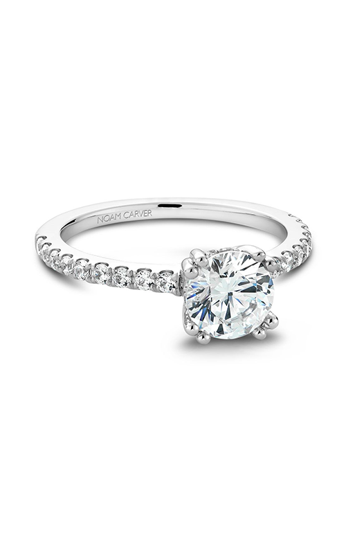 Noam Carver Classic Engagement Ring B004-01A product image