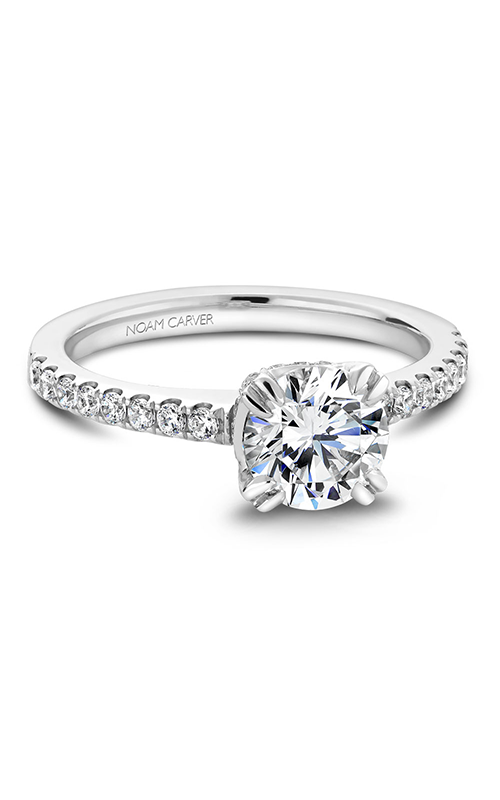 Noam Carver Classic Engagement ring B009-01A product image
