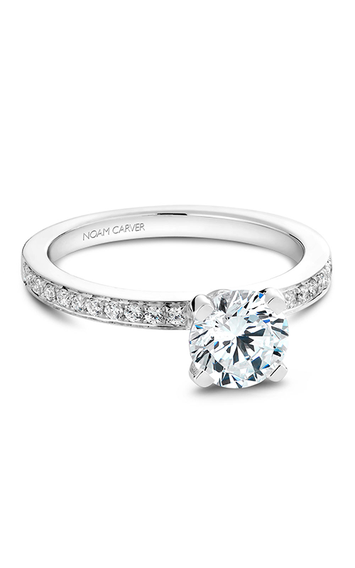Noam Carver Classic Engagement Ring B012-01A product image