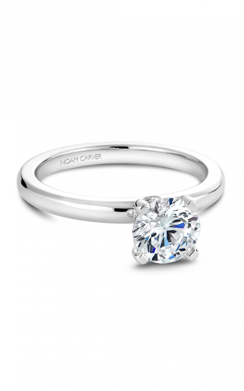 Noam Carver Classic Engagement Ring B012-02A product image
