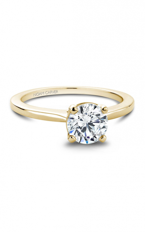Noam Carver Classic Engagement ring B018-01YA product image