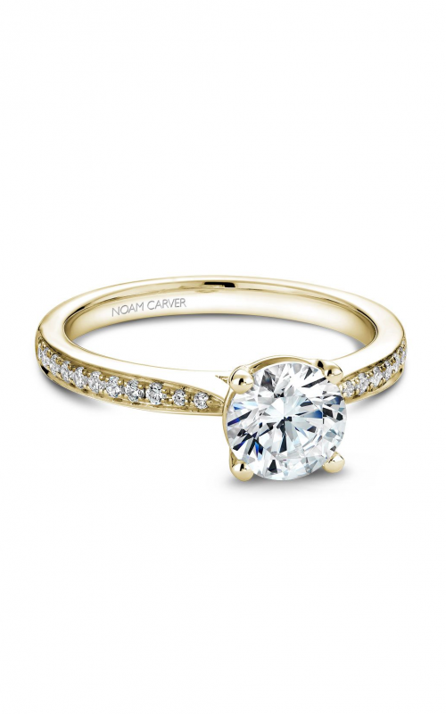 Noam Carver Classic Engagement ring B018-02YA product image