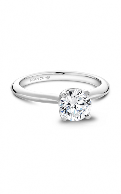 Noam Carver Classic Engagement ring B027-01A product image