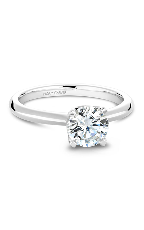 Noam Carver Classic Engagement Ring B027-03A product image
