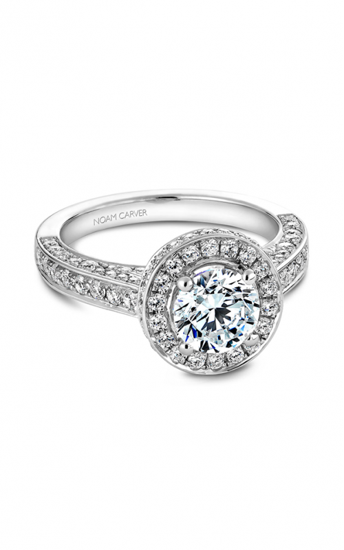 Noam Carver Classic Engagement Ring B030-01A product image