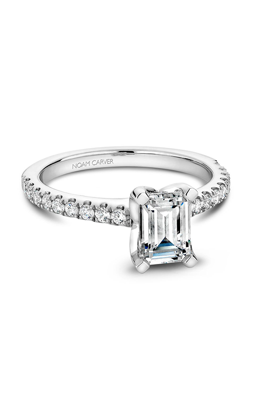 Noam Carver Classic Engagement Ring B038-03A product image