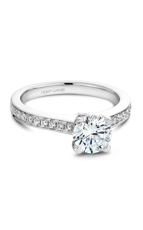 Noam Carver Classic Engagement Ring B039-01A product image