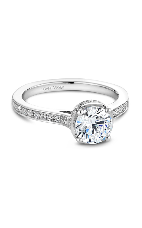 Noam Carver Classic Engagement ring B040-02A product image