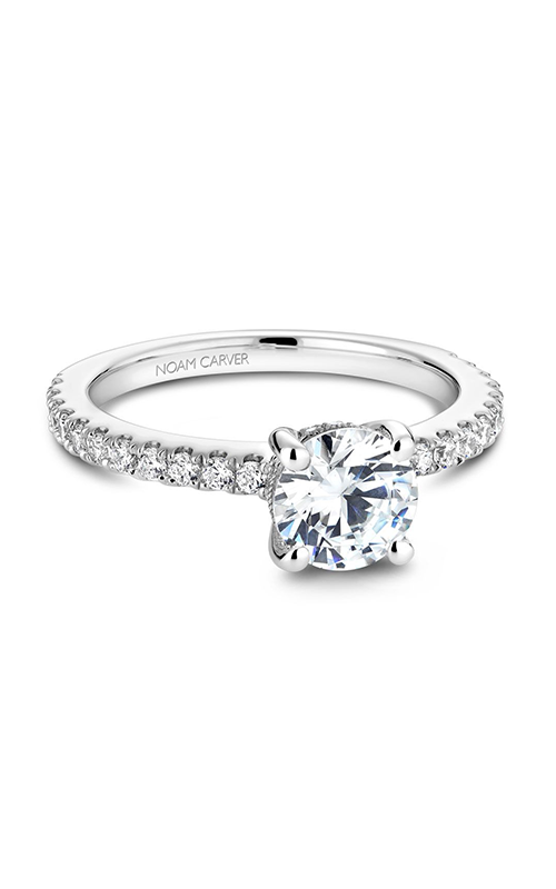 Noam Carver Classic Engagement ring B087-01A product image