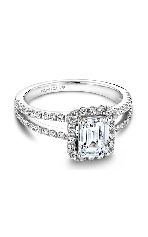 Noam Carver Classic Engagement ring B092-01A product image