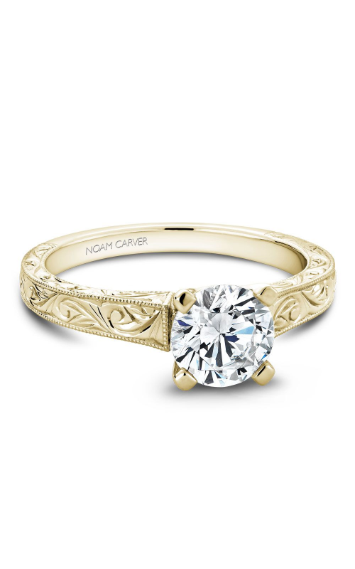 Noam Carver Vintage Engagement Ring B006-03YEA product image