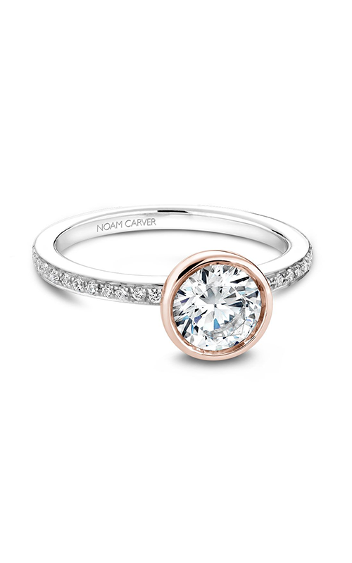 Noam Carver Modern Engagement ring B095-02WRA product image