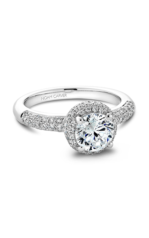 Noam Carver Modern Engagement ring B100-02A product image