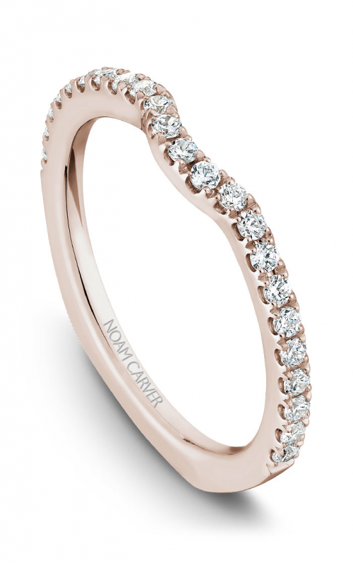 Noam Carver Wedding band B009-01RB product image