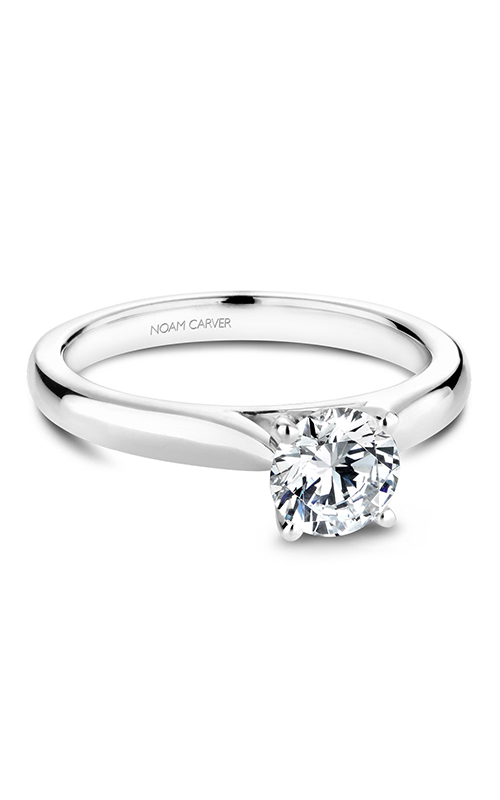 Noam Carver Classic Engagement Ring B190-01A product image