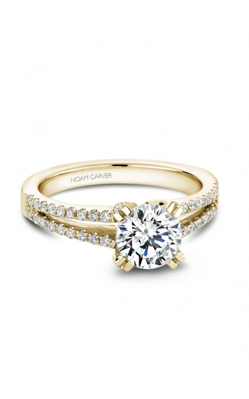 Noam Carver Modern Engagement Ring B002-03YA product image