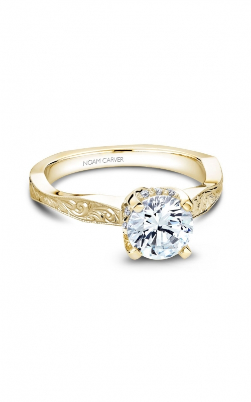 Noam Carver Vintage Engagement Ring B020-04YEA product image