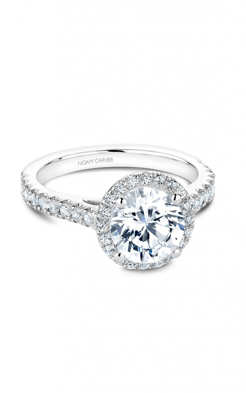 Noam Carver Modern Engagement ring B034-03A product image