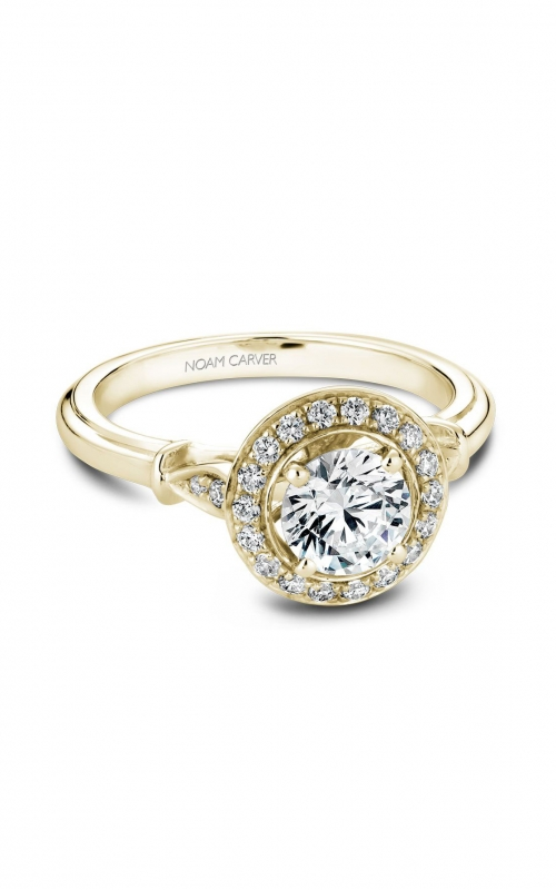 Noam Carver Modern Engagement ring B074-01YA product image