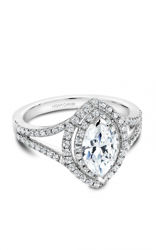 Noam Carver Fancy Engagement Ring B100-08A product image