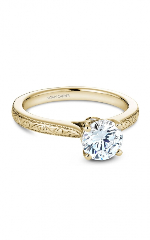 Noam Carver Classic Engagement ring B140-02YEA product image