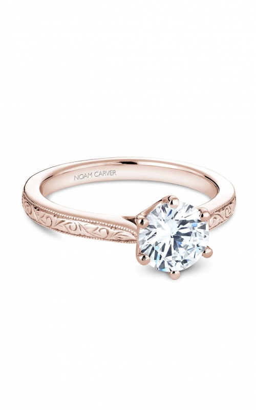 Noam Carver Classic Engagement ring B140-17REA product image