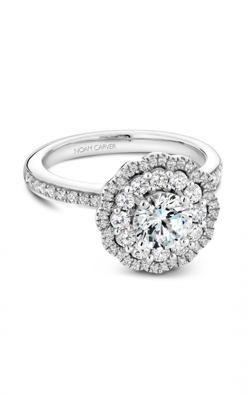 Noam Carver Floral Engagement ring B141-16WM product image
