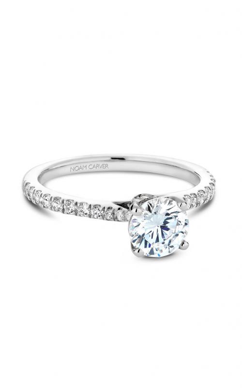 Noam Carver Solitaire Engagement ring B142-02WM product image
