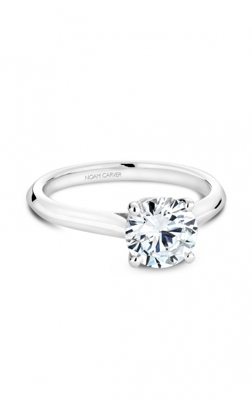 Noam Carver Classic Engagement ring B143-01A product image