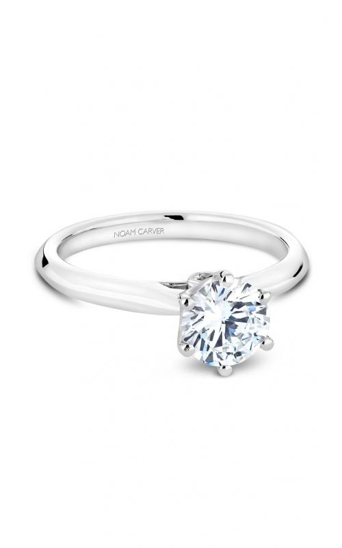 Noam Carver Solitaire Engagement ring B143-17WM product image