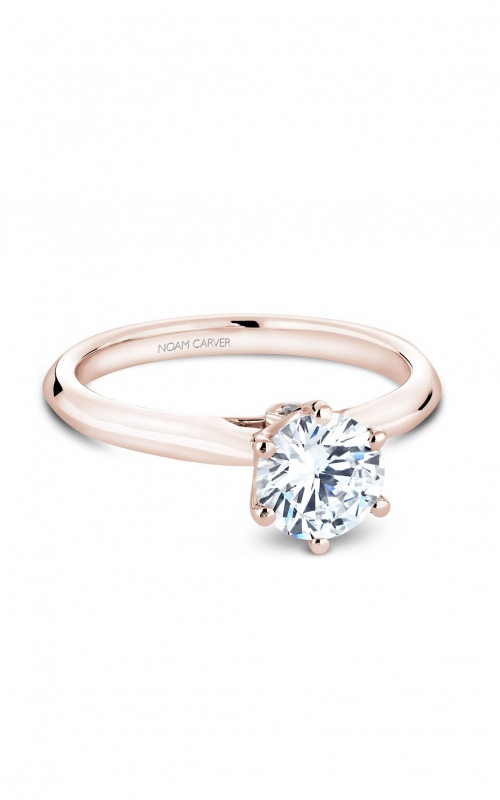 Noam Carver Classic Engagement Ring B143-17RA product image