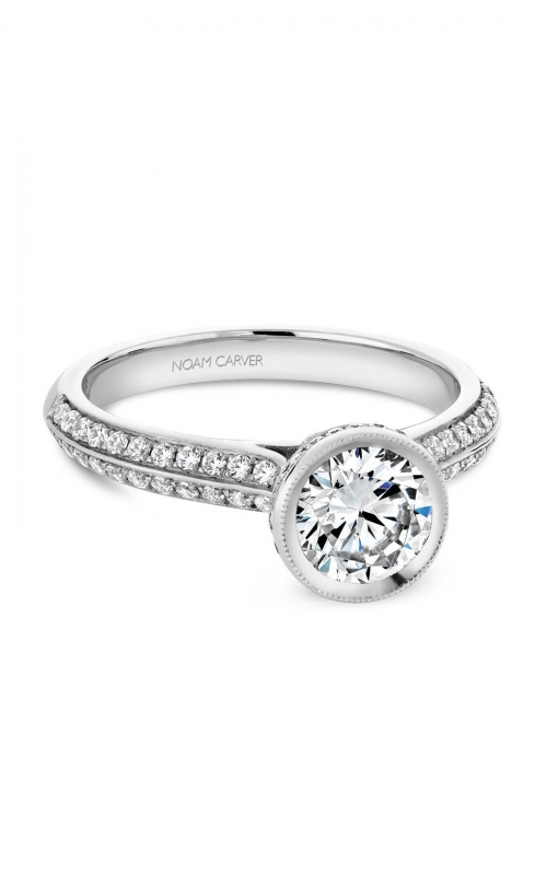 Noam Carver Classic Engagement ring B144-12A product image