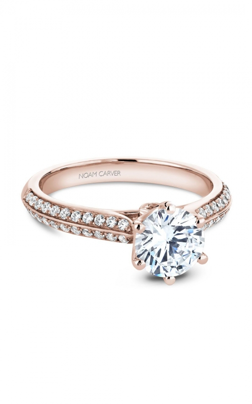 Noam Carver Classic Engagement ring B144-17RA product image