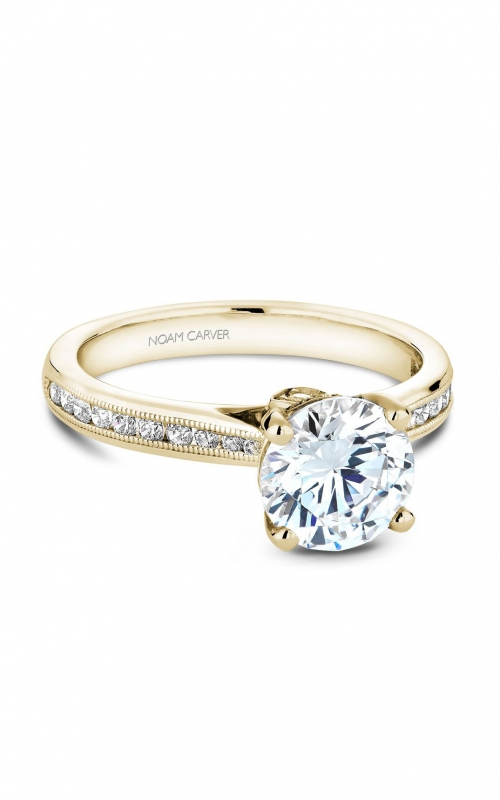 Noam Carver Classic Engagement ring B145-02YA product image