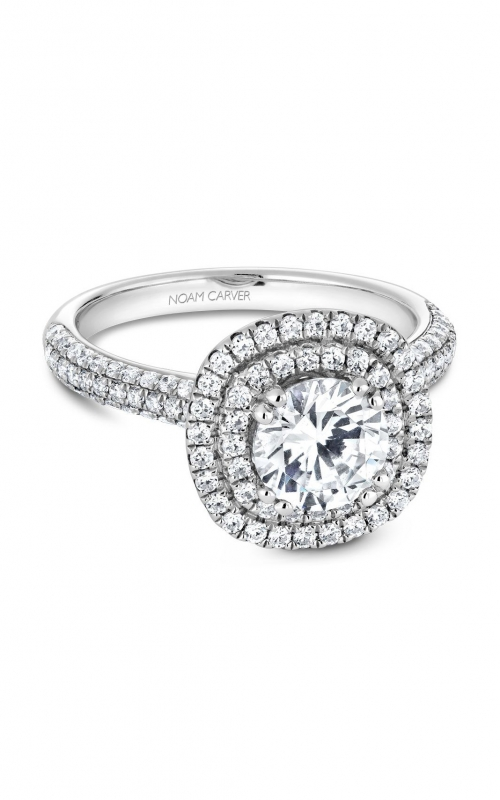 Noam Carver Classic Engagement ring B146-08A product image