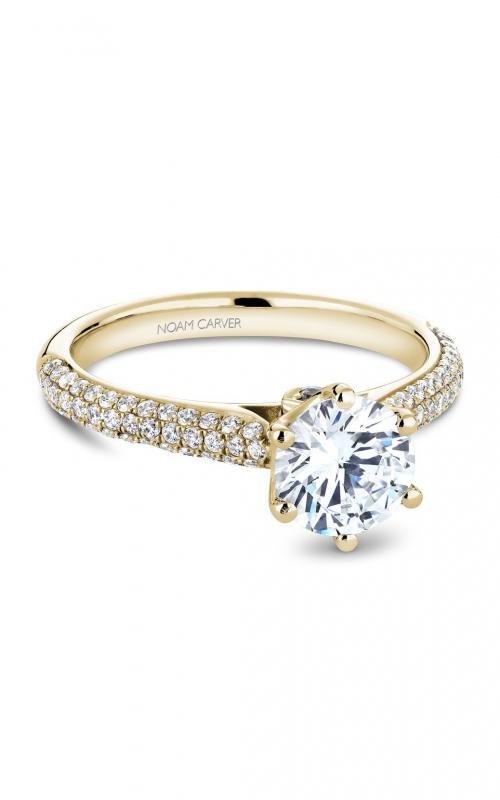 Noam Carver Classic Engagement Ring B146-17YA product image