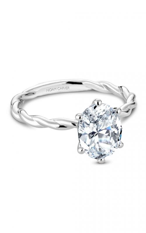 Noam Carver Twist Band Engagement ring B167-01WM product image