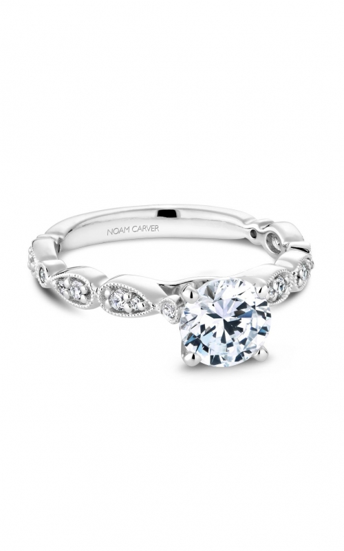 Noam Carver Floral Engagement ring B204-01A product image