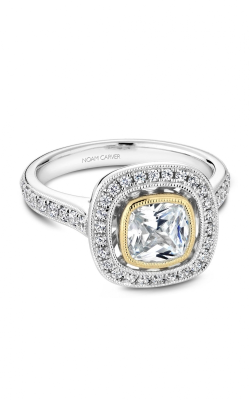 Noam Carver Modern Engagement Ring R040-03WYA product image