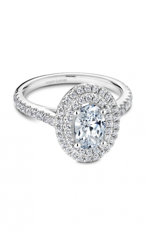 Noam Carver Modern Engagement ring R051-02A product image