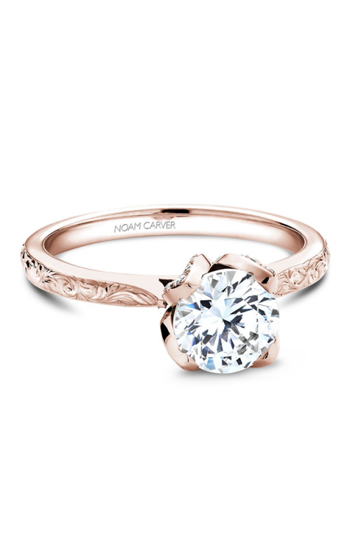 Noam Carver Vintage Engagement ring B019-03REA product image