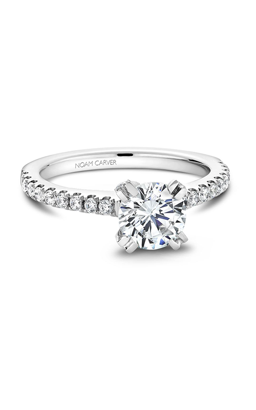 Noam Carver Solitaire Engagement Ring B002-01WM product image