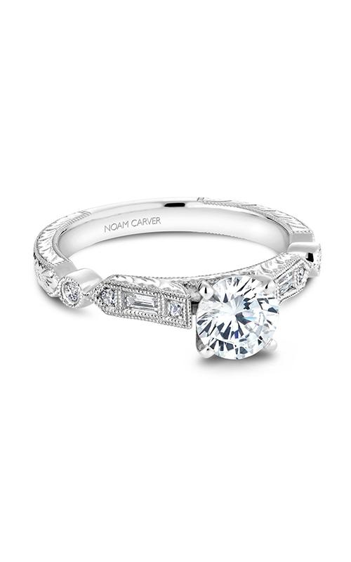 Noam Carver Vintage Engagement Ring B053-01WM product image