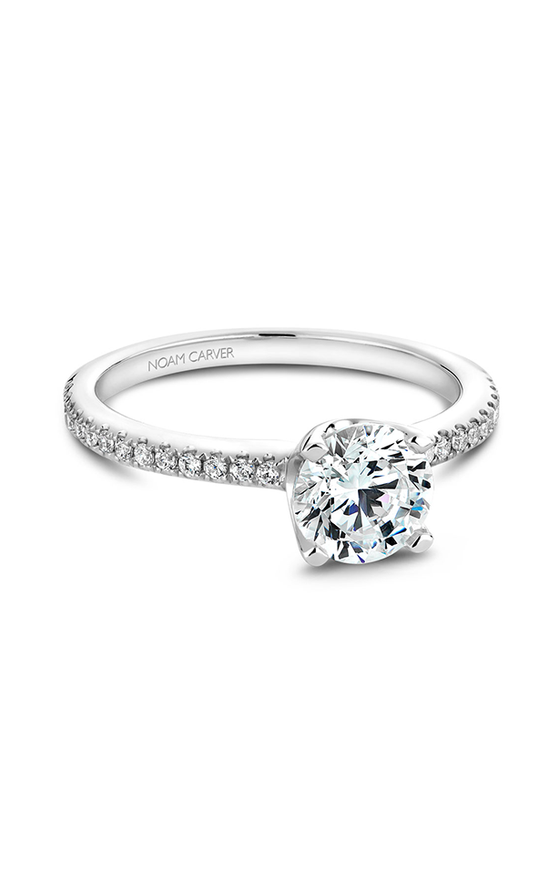 Noam Carver Classic Engagement Ring B027-02A product image