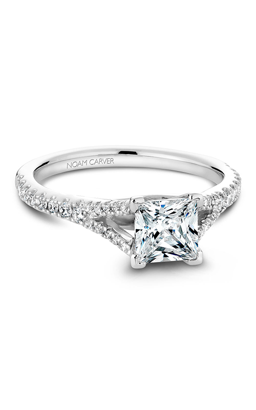 Noam Carver Classic Engagement Ring B093-01A product image